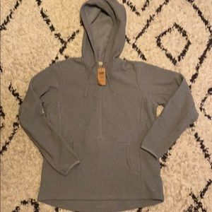 Womens Duluth Womens Park Point Hooded Pullover M